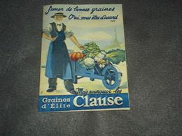 Document  Les Graines D'lite Clause - Documents Historiques