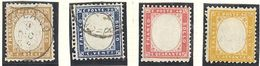 Italie: Yvert N°2/5 - 1861-78 Victor Emmanuel II.