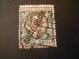 CASTELROSSO, 1924 -  Sass. N. 24, L. 1, Usato, TTB, OCCASIONE - Castelrosso