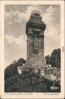 Ansichtskarte Görlitz Zgorzelec Landekrone - Bismarcksäule 1928 - Goerlitz