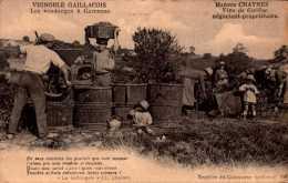 81 -  Gaillac  - Les Vendanges à Carensac - Vignoble Gaillacois - Marius Chaynes  Négociant   - R/V  - Bill-846 - R/V - Gaillac