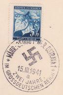 146/ Böhmen Und Mähren; Sonderstempel - PR 45a - Bohemia & Moravia