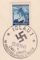 147/ Böhmen Und Mähren; Sonderstempel - PR 46a - Bohemia & Moravia