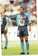 I 470 /71 LE HAVRE  De Neef  Kerkar   2 CARTES                     CARTE FOOTBALL 2000 - Trading Cards