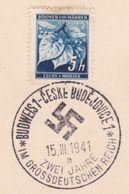 148/ Böhmen Und Mähren; Sonderstempel - PR 47a - Bohemia & Moravia