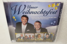 """CD """"Unser Weihnachtsfest"""" Fröhliche Weihnachten Mit Den Deutschen Top Stars - Música & Instrumentos"""