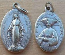NM-432Médaille Ancienne Ovale Catherine Labouré - Religion & Esotericism