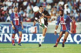 I 474/75/76 TROYES     ADAM  ZAVAGNO MONIER    3 CARTES                     CARTE FOOTBALL 2000 - Trading Cards