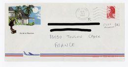 - LIBERTÉ N° Yvert 2376 - SUR LETTRE DU 9/1/1990 DE St LEU À LA RÉUNION - 1982-90 Liberty Of Gandon