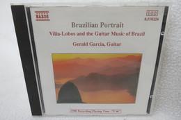 "CD ""Brazilian Portrait"" Villa-Lobos And The Guitar Music Of Brazil, Gerald Garcia, Guitar - Instrumental"