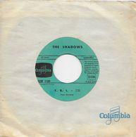 "The Shadows 45t. SP "" F.B.I."" - Vinyl Records"