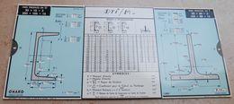 Règle à Calcul De 1935 - OMARO - Fers Profilés En U - Fars Profilés En T - Autres
