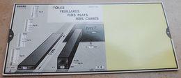 Règle à Calcul De 1936 - OMARO - Tôles Feuillards Fers Plats Fers Carrés - Sciences & Technique
