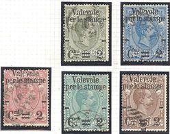 Italie: Yvert N°46/51 - 1878-00 Humbert I