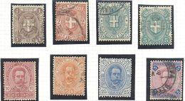 Italie: Yvert N°55/63 - 1878-00 Humbert I