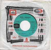"""Theo Sarapo 45t. SP """"bluff !"""" - Other - French Music"""