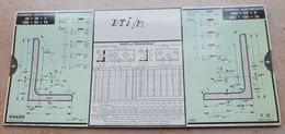 Règle à Calcul De 1935 - OMARO - Cornières Ailes Inégales - Autres