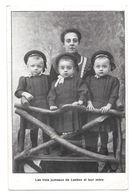 Les Trois Jumeaux De Laeken Et Leur Mère  Non Circulée - Laeken