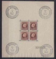 BLOK 1 ** MNH Postfris Zonder Plakker Met Enkele Foutjes ; Zie Ook Scans 2 En 3 (OBP = 650 €) ! Verkoop Aan 75 € ! - Blocs 1924-1960