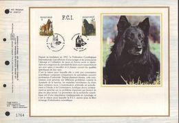 BUZIN / CEF / BERGERS BELGES / FR / COB 2213 ET 2215 - 1985-.. Oiseaux (Buzin)