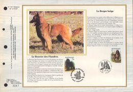 BUZIN / CEF / BERGERS BELGES / FR / COB 2214 ET 2216 - 1985-.. Oiseaux (Buzin)