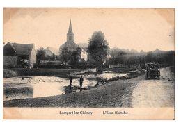 Lompret Lez Chimay L'eau Blanche Ancienne Voiture Non Circulée Edit Douniau - Chimay