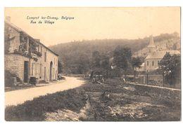 Lompret Lez Chimay Rue Du Village Bon état Non Circulée édit Douniau - Chimay