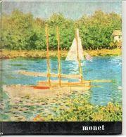 Monet Schilder Peintre  Blz 36   Form. 17,5x16cm Italiaanse Tekst - Autres