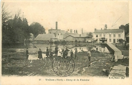 Trélon. Etang De La Fontaine    Brasserie-Malterie Coopérative - France
