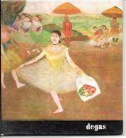 Degas   Schilder Peintre  Blz 36   Form. 17,5x16cm Italiaanse Tekst - Autres