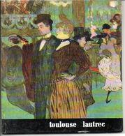 Toulouse Lautrec    Schilder Peintre  Blz 36   Form. 17,5x16cm Italiaanse Tekst - Boeken, Tijdschriften, Stripverhalen
