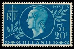 OCEANIE (Ets Fr.) 1944 - Yv. 171 **   Cote= 2,10 EUR - Entraide Française  ..Réf.AFA22904 - Ozeanien (1892-1958)