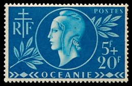 OCEANIE (Ets Fr.) 1944 - Yv. 171 **   Cote= 2,10 EUR - Entraide Française  ..Réf.AFA22905 - Ongebruikt