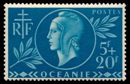 OCEANIE (Ets Fr.) 1944 - Yv. 171 **   Cote= 2,10 EUR - Entraide Française  ..Réf.AFA22909 - Ozeanien (1892-1958)
