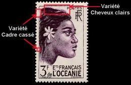 OCEANIE (Ets Fr.) 1948 - Yv. 193 ** Rares Variétés - Tahitienne 3f  ..Réf.AFA22915 - Oceania (1892-1958)