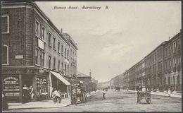 Roman Road, Barnsbury, London In C.1906 - Repro Postcard - London Suburbs