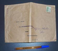 Enveloppe Avec Timbre N°191 De 1926 Mont Fuji - Covers & Documents