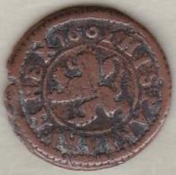 Espagne , 2 Maravedis 1602  Segovia. Felipe III.  KM# 9 - [ 1] …-1931 : Royaume