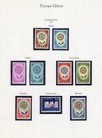 EUROPA Set 1964+Montenegro 108/1,VB,Blocks 2B+3 ** 279€ Hb Ss Sheets Blume Mit 22 Blätter M/s Bf 50 Years CEPT 2006 - Islande