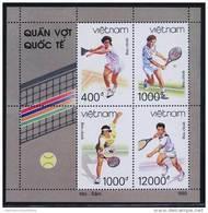 Vietnam Viet Nam MNH Perf Sheetlet 1993 : Tennis (Ms672) - Vietnam