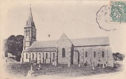 50. LE VAST. CPA . L'EGLISE. ANNEE 1905 - Andere Gemeenten