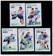 Vietnam Viet Nam MNH Perf Stamps 1992 : European Cup Football (Ms643) - Vietnam