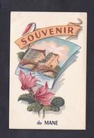 Souvenir De Mane (04) - Other Municipalities