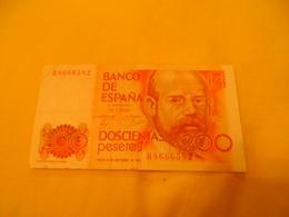 Espagne Spain Espana 200 Pesetas - [ 4] 1975-… : Juan Carlos I