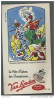 "Buvard - Vanlynden  "" Jeanne Hachette Au Siège De Beauvais "" - Gingerbread"