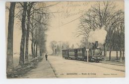 SOISSONS - Route De Crouy (passage Train ) - Soissons