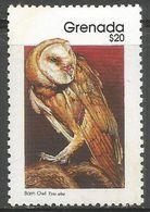 Grenada  - 1990 Barn Owl $20  MNH **   SG 2007a  Sc 1718a - Grenada (1974-...)