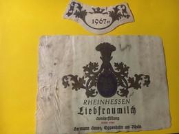 7964 - Rheinessen Liefraumilch 1967 Allemagne état Moyen - Etiquettes