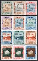 Italienisch-Eritrea 1934 2. Kolonialausstellung Neapel Sassone 220-225, A1-A6 Ungebraucht MLH - Eritrea