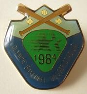 Pin 1984 DODGER Baseball STADIUM - Button Badge Lapel - Honkbal Olympic Sport - Baseball